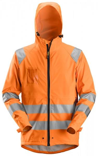 High-Vis PU Regenjacke, Klasse 3, High vis orange