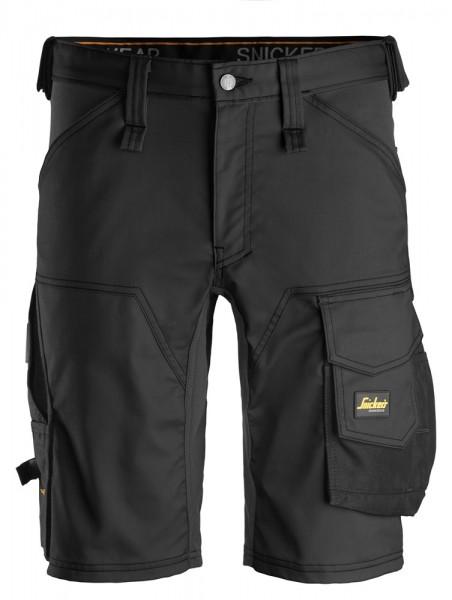 "Stretch Shorts ""AllroundWork"", Black/Black"