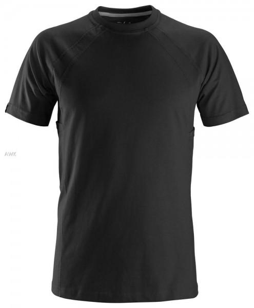 T-Shirt mit MultiPockets™, Black