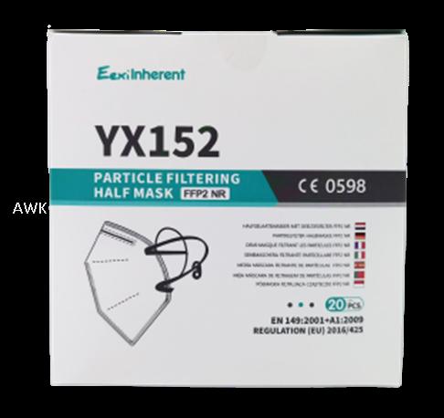 Feinstaubmaske FFP2 NR ohne Ausatemventil