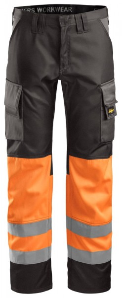 High-Vis Bundhose, Klasse 1,orange