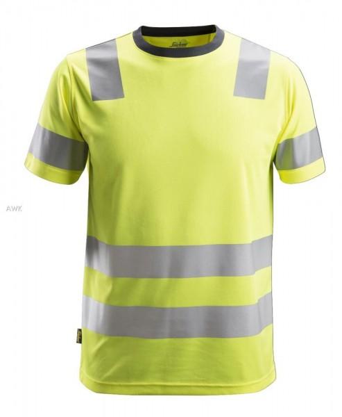 AllroundWork, High-Vis T-Shirt, warngelb, PES150