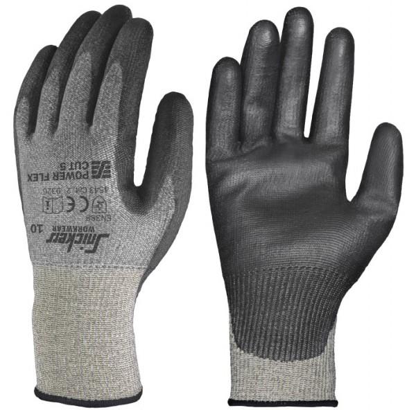 Power Flex Cut 5 Handschuhe PAAR, Rock grey/Black