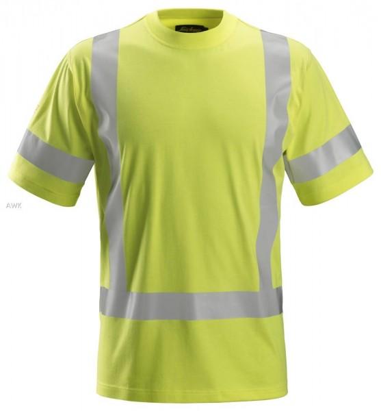 ProtecWork, Kurzarm-T-Shirt signalgelb
