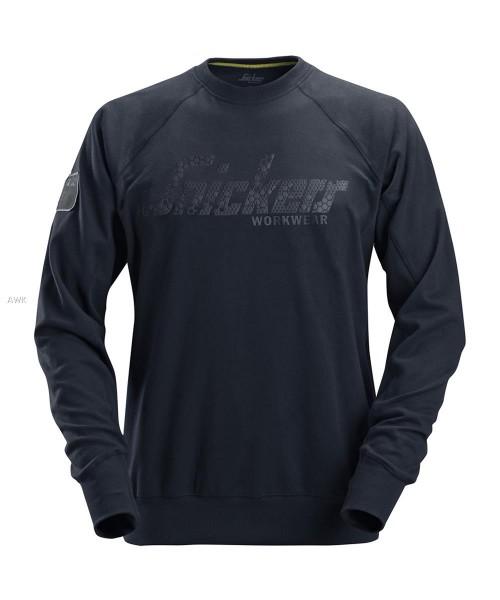 Logo Sweatshirt, Navy, MG280