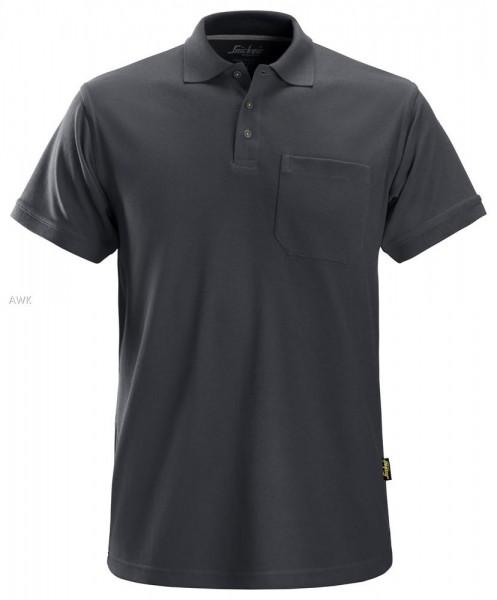 Polo Shirt, Steel grey