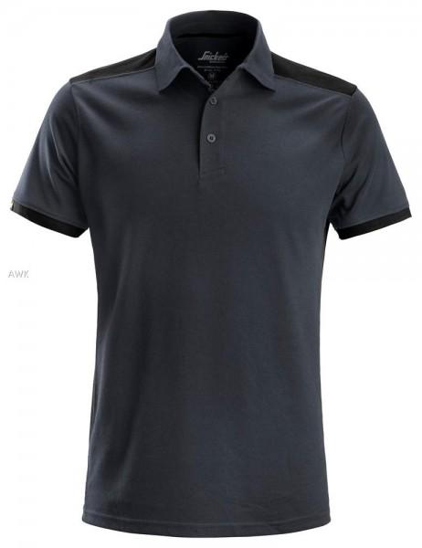 AllroundWork Polo Shirt, Steel grey\Black