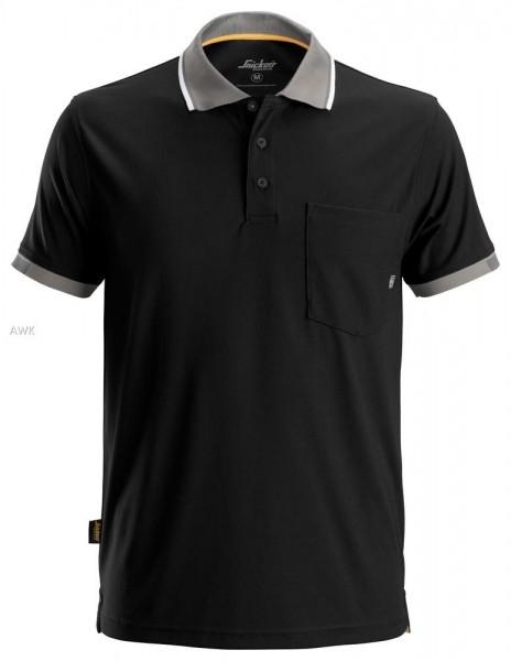 AllroundWork 37.5® Poloshirt, Black
