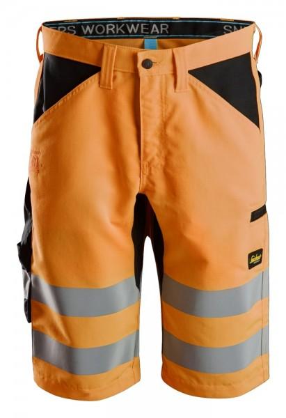 LiteWork High-Vis Shorts+, orange, PES200