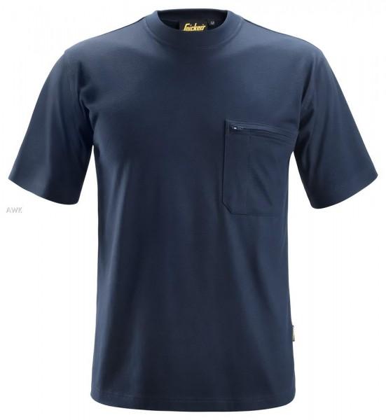 ProtecWork, Kurzarm-T-Shirt Navy