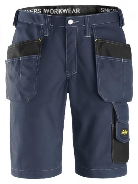 Handwerker Shorts mit Holstertaschen, Rip Stop, Na