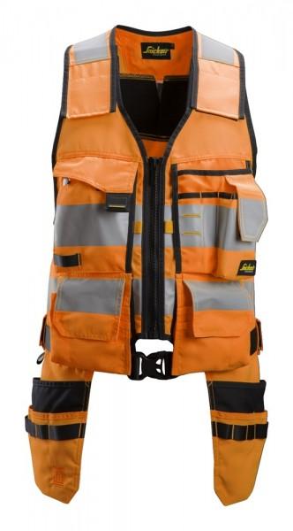 AllroundWork, High-Vis Werkzeugweste, orange/black