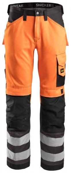 High-Vis Hose, Klasse 2, High vis orange\Muted bla