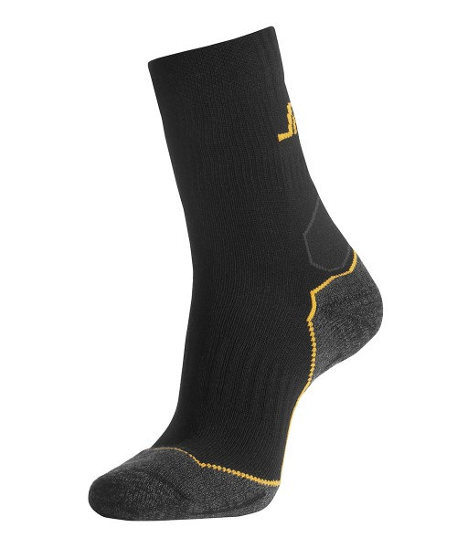 Socken WollMix, halbhoch, Black\Grey