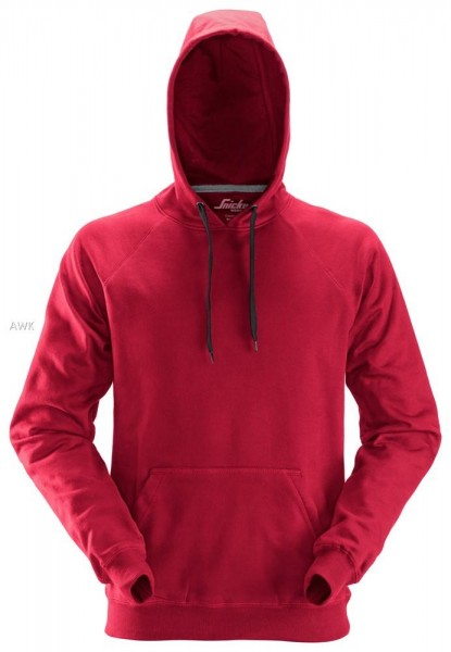 Kapuzensweatshirt, Chili-Red