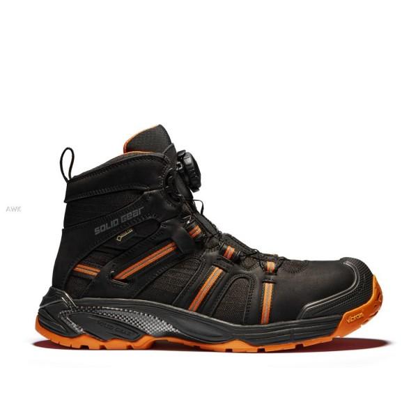 "Si-Stiefel S3 ""Phoenix GTX"" schwarz-orange"