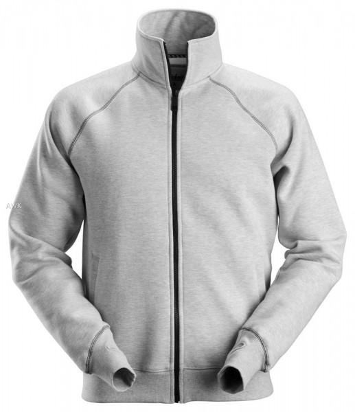 Sweatshirt-Arbeitsjacke mit Reißverschluss, Grey