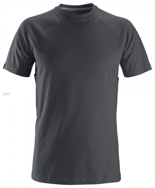 T-Shirt mit MultiPockets™, Steel grey