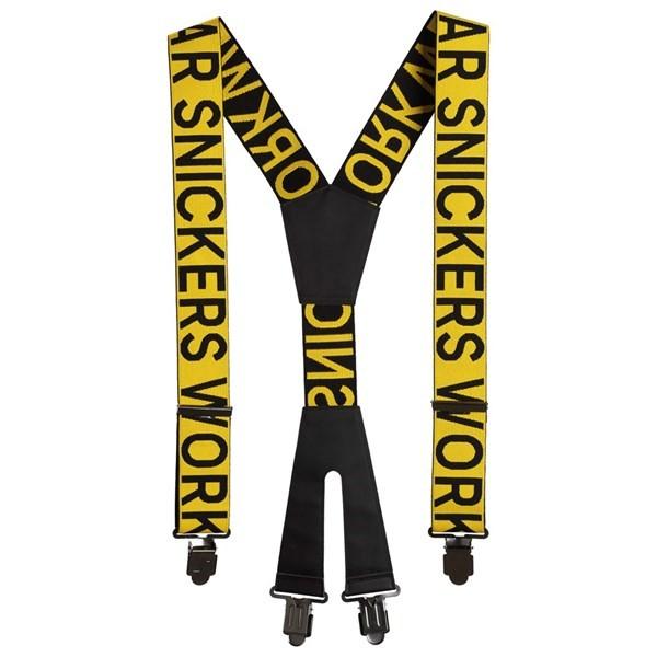 Hosenträger, gelb-schwarz