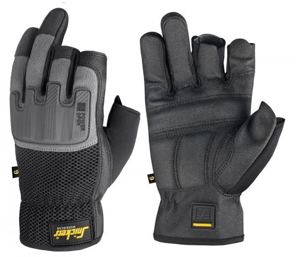 Power Open Handschuhe PAAR, Black/Rock Grey