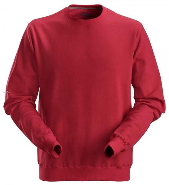 Sweatshirt, Chili red