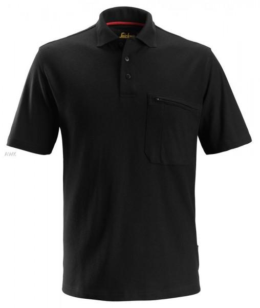 ProtecWork Kurzarm Polo-Shirt, black