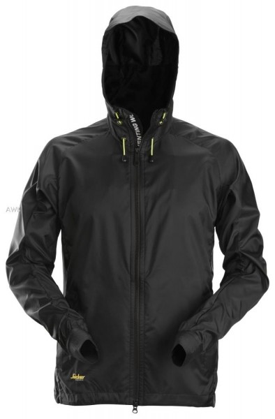 LiteWork Windbreaker- Arbeitsjacke, schwarz