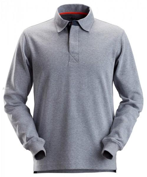"Rugby Shirt ""AllroundWork"" grau, MG280"