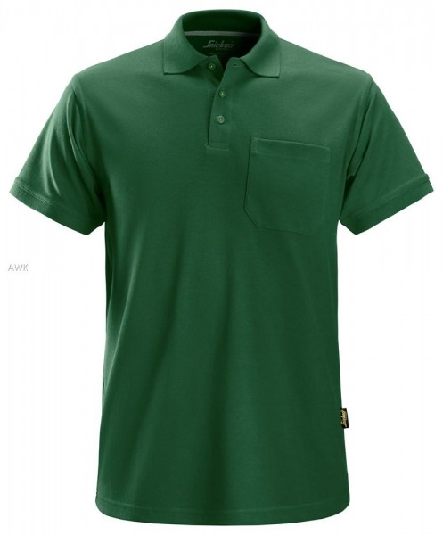 Polo Shirt, Forest green