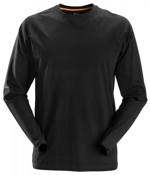 AllroundWork, langarm T-Shirt, Black