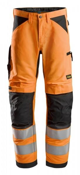"""High-Vis Arbeitshose+ """"LiteWork"""", schwarz-orange"""