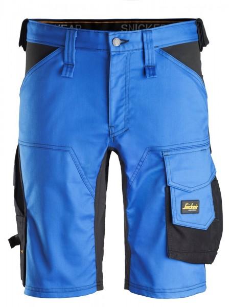 "Stretch Shorts ""AllroundWork"", TrueBlue/Black"