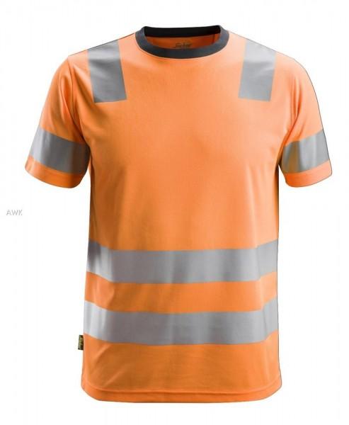 AllroundWork, High-Vis T-Shirt, warnorange, PES150