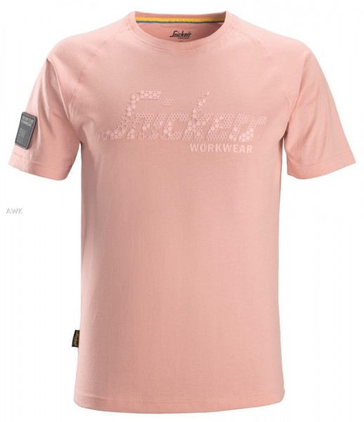 Logo T-Shirt, Devon Pink, BW200