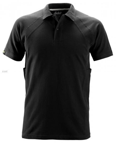 Polo Shirt mit MultiPockets™, Black
